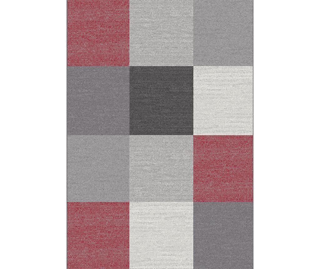 Covor Menfis Blocks 120x170 cm - Universal XXI, Gri & Argintiu poza