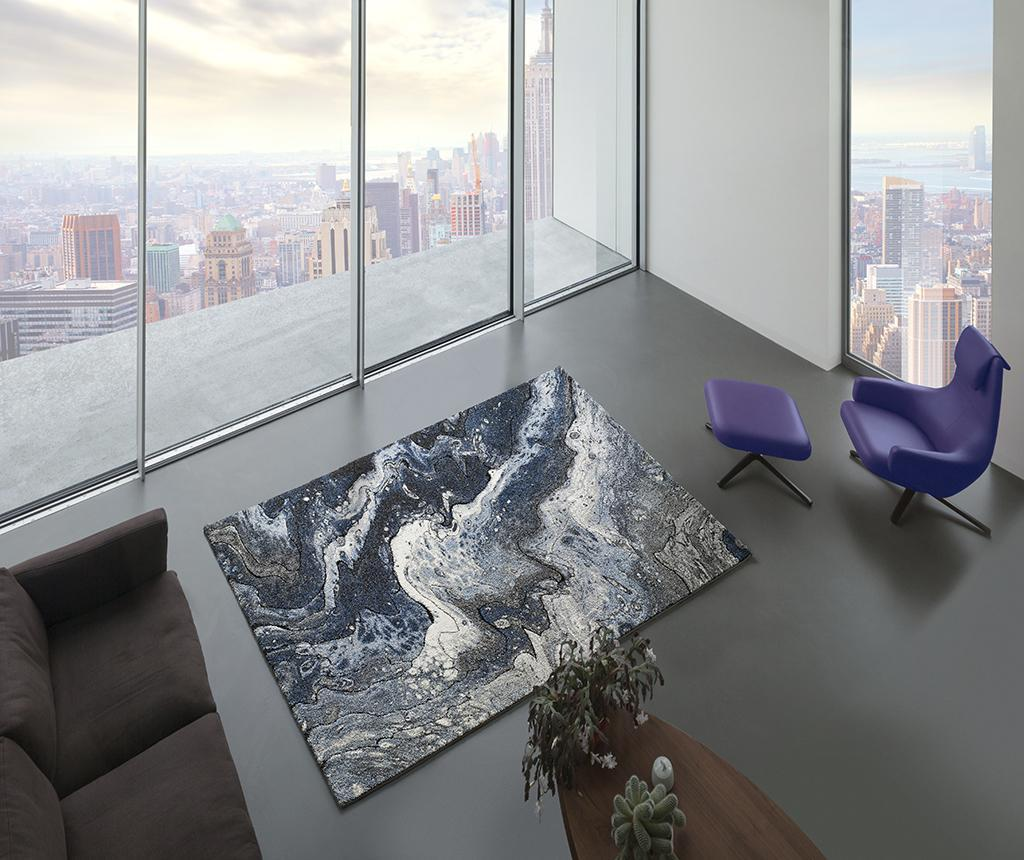 Covor Kael Sky 120x170 cm - Universal XXI, Gri & Argintiu poza