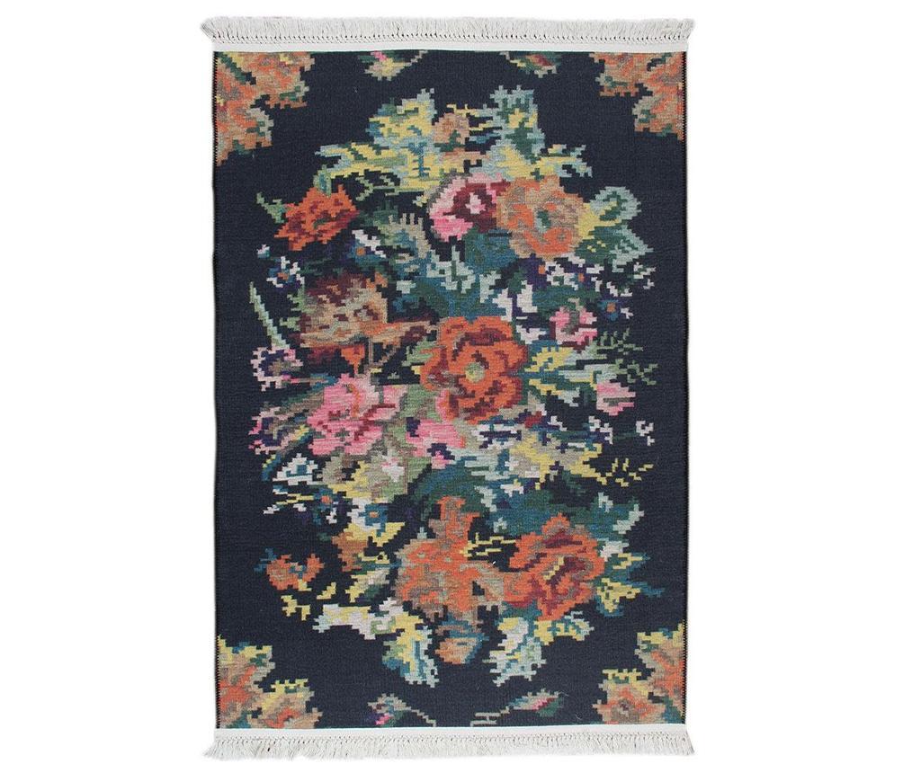Covor Melinda Black 75x300 cm