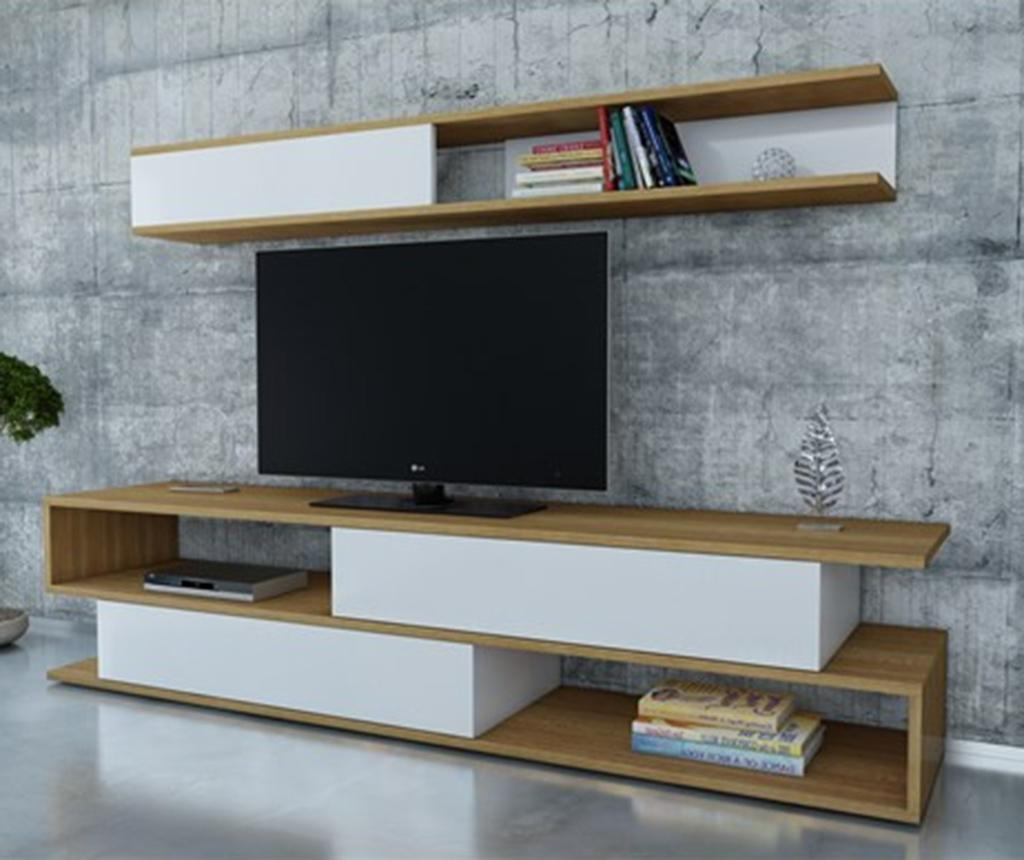 Set comoda TV si corp suspendabil Sims