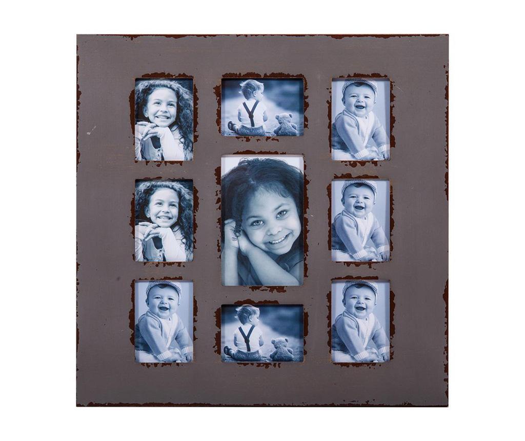 Rama 9 fotografii Nadilo Grey - Creaciones Meng, Multicolor