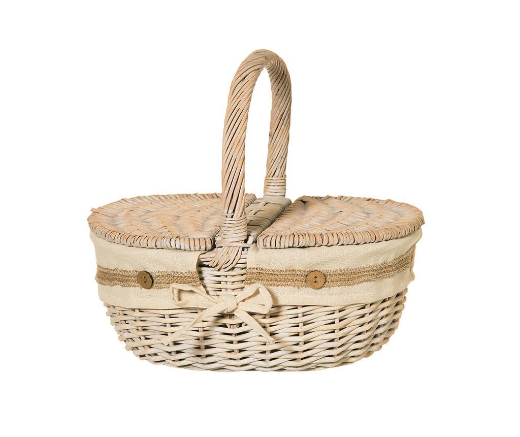 Cos pentru picnic Good Time - L'arte di Nacchi, Crem imagine