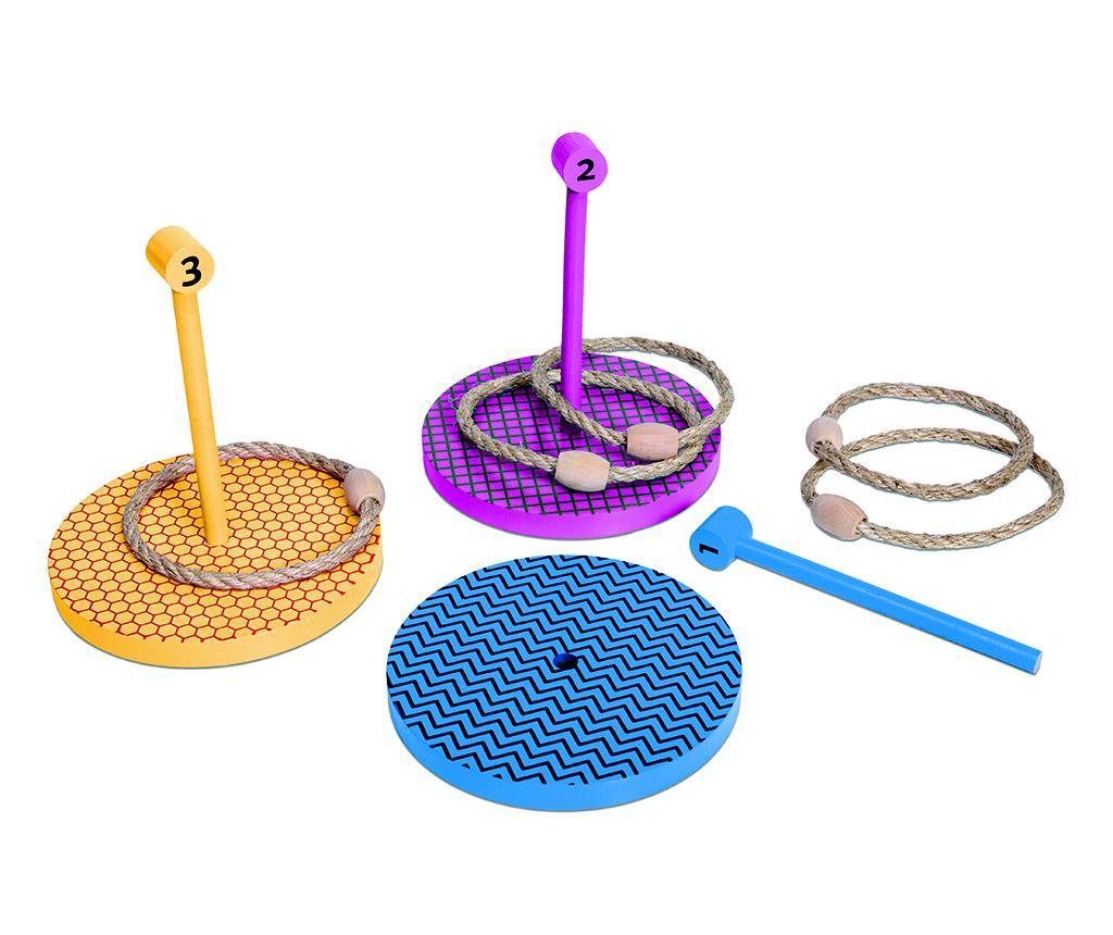Joc de aruncat la tinta cu inele Toss Ring - BS Toys, Multicolor imagine