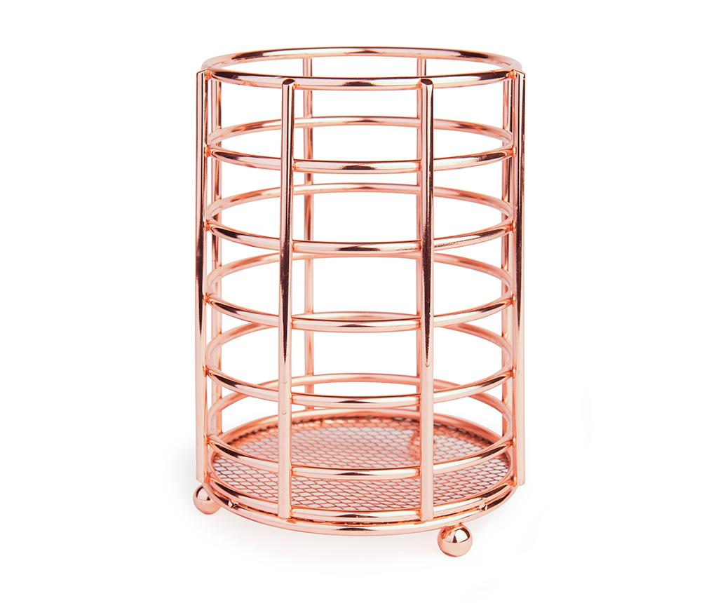 Suport pentru ustensile de bucatarie Hydra Copper - Excelsa, Rosu de la Excelsa