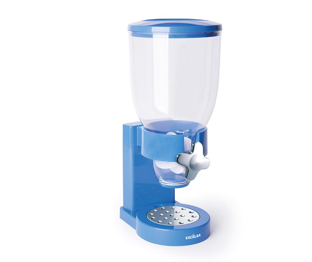 Dispenser pentru cereale Good Morning Light Blue - Excelsa, Albastru imagine