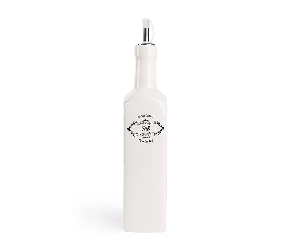 Recipient pentru ulei Fine 500 ml - Excelsa, Alb