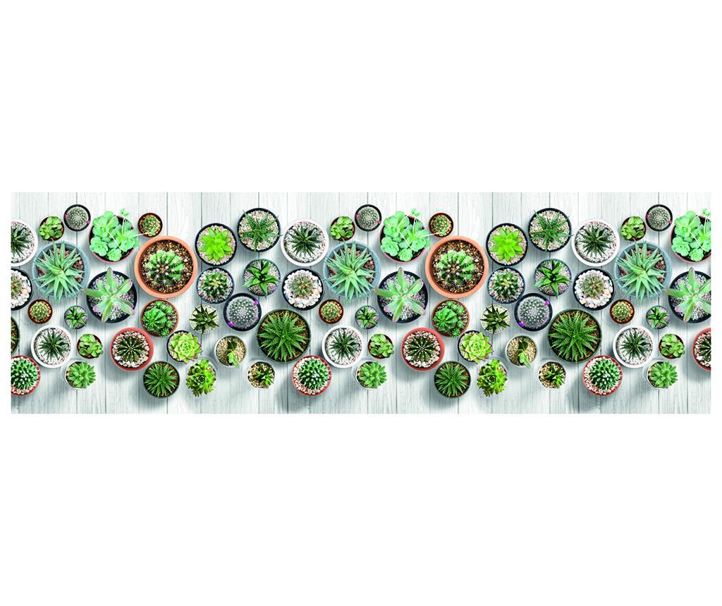 Covor Cactus 58x190 cm - Webtappeti, Multicolor