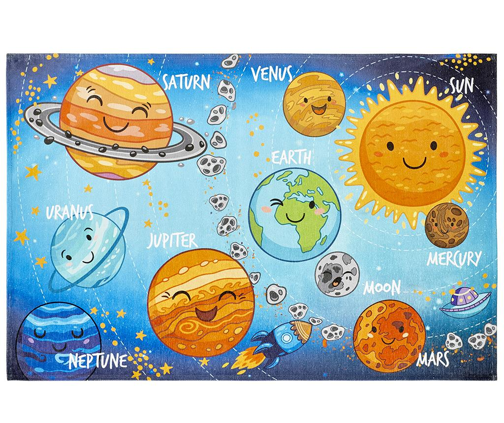 Covor My Torino Kids Solar 80x120 cm - Obsession, Albastru imagine