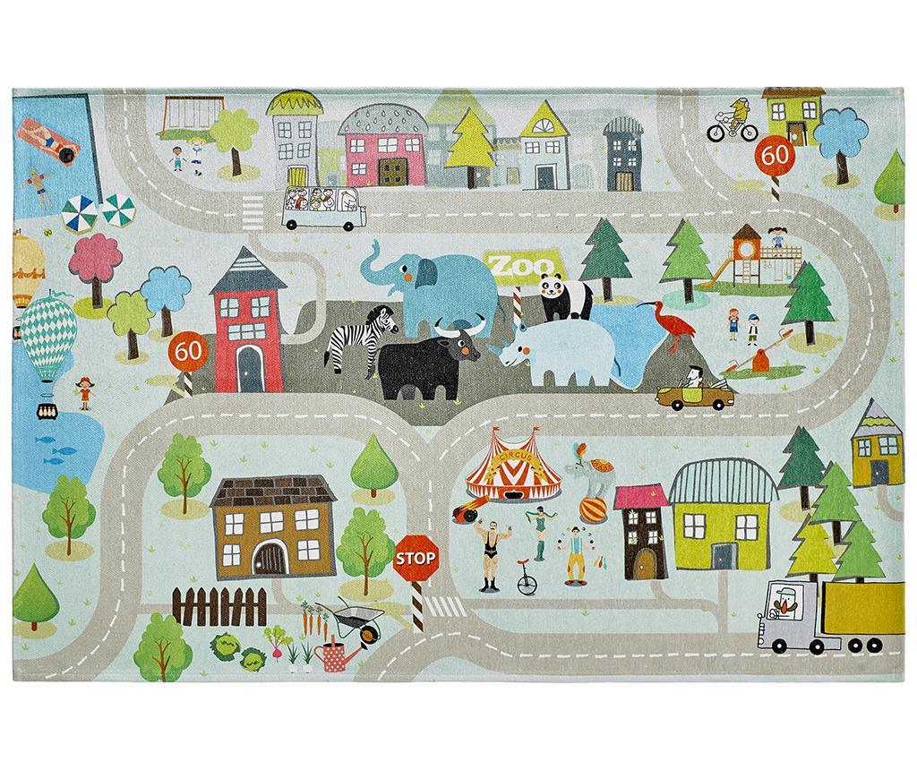 Covor de joaca My Torino Kids Street 120x170 cm - Obsession, Multicolor imagine