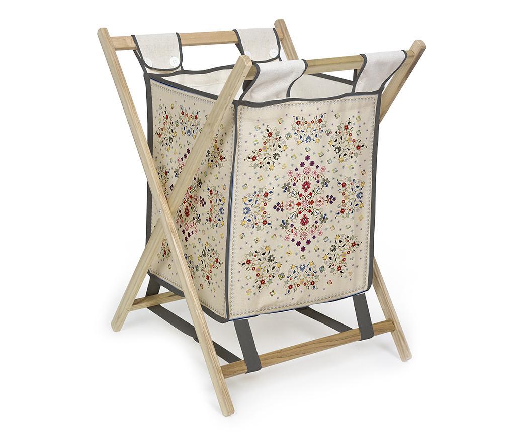 Cos pliabil pentru rufe Flowers Tapestry imagine