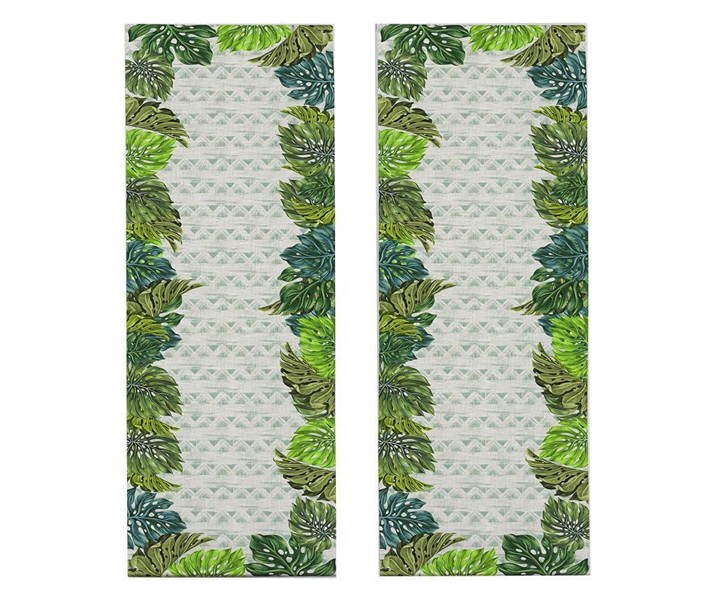 Set 2 traverse de masa Jungle - Madre Selva, Multicolor poza