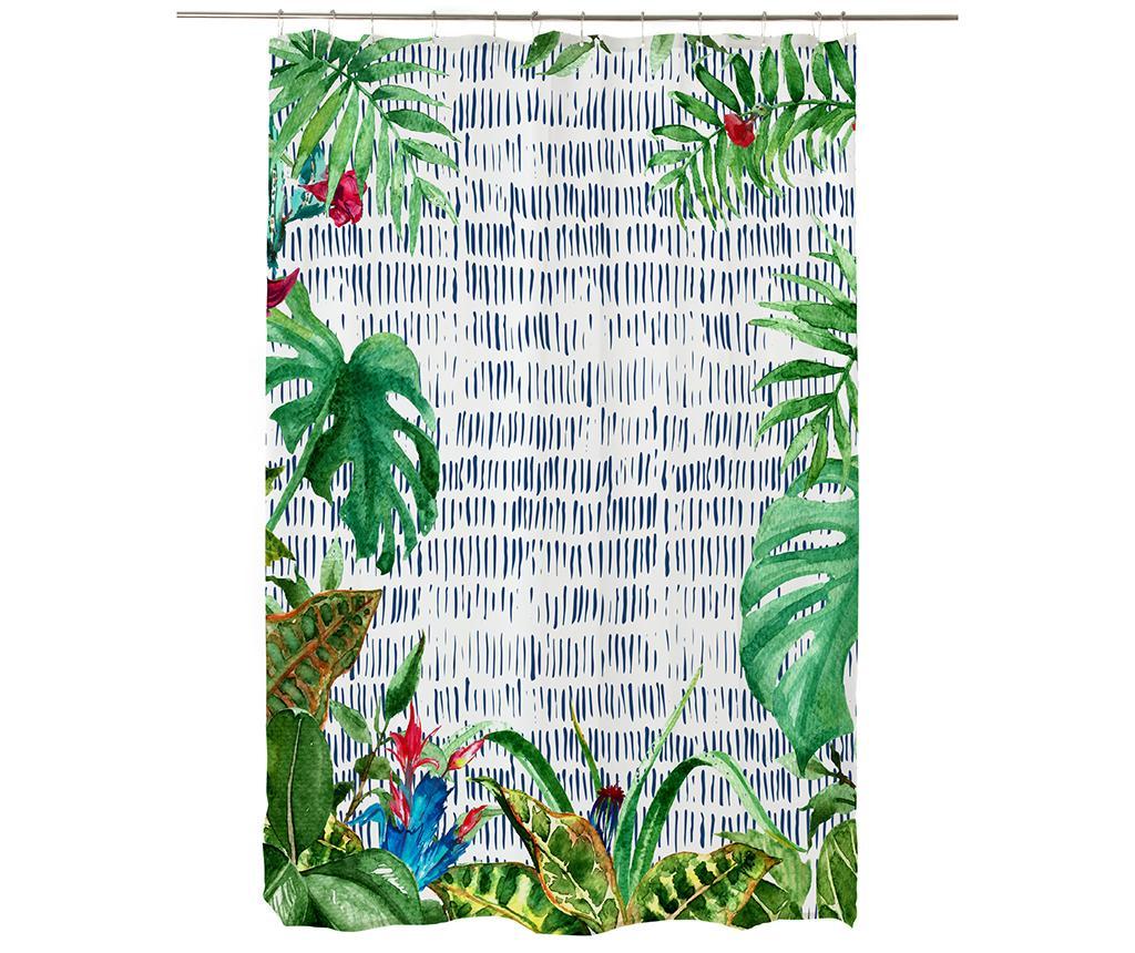 Perdea Jungle Rain 180x200 cm imagine