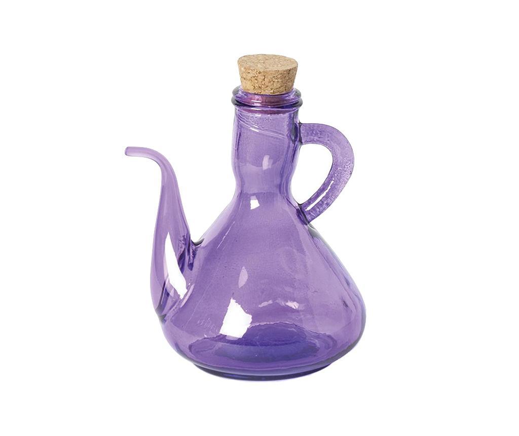 Recipient pentru ulei sau otet Pot Liliac 500 ml - Excelsa, Mov imagine