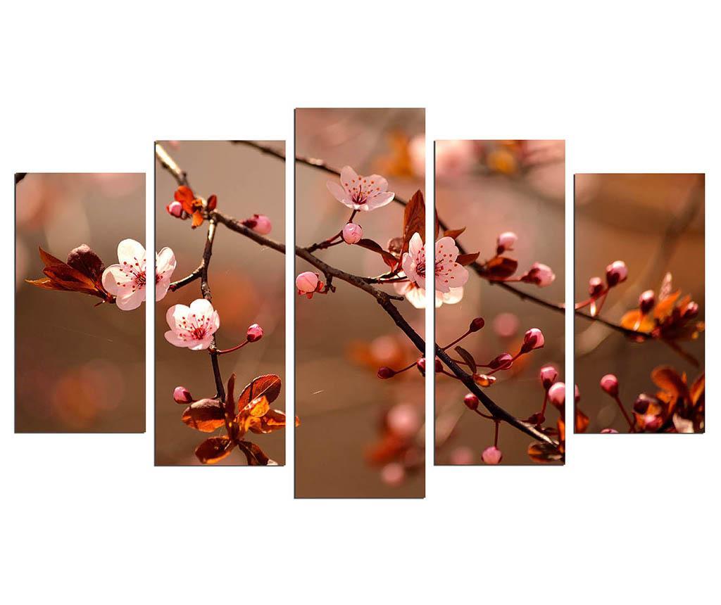 Sada 5 obrazov Blooming.