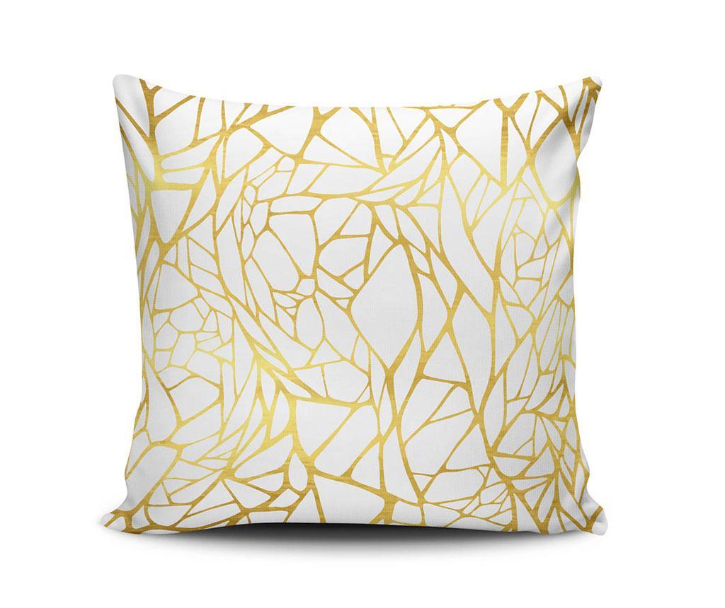 Perna decorativa Golden Lines 45x45 cm
