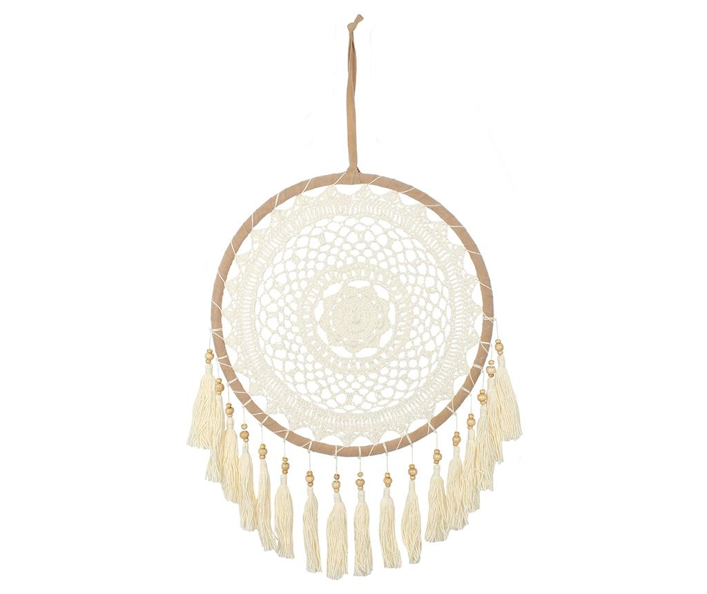Decoratiune suspendabila Dreamcatcher Cream imagine