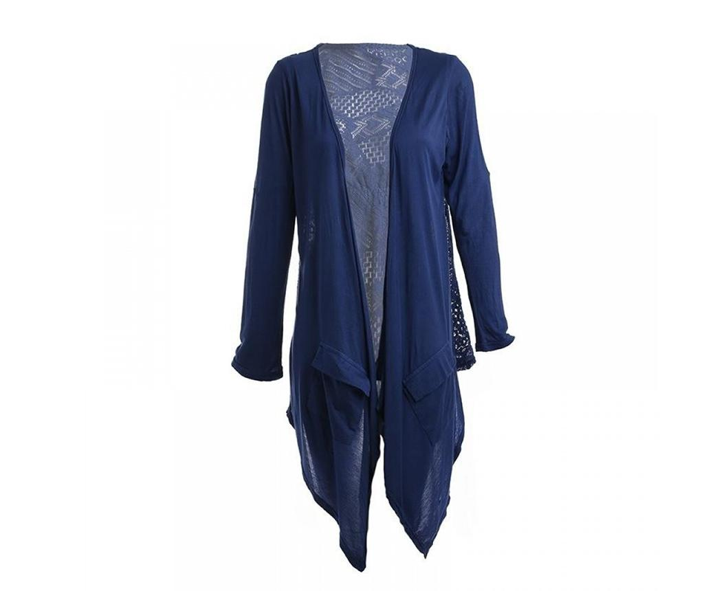 Bluza cu maneca lunga dama Diona Blue L