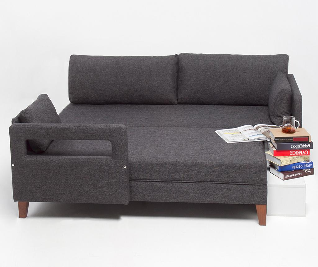 Coltar stanga modular Comfort Grey - Balcab Home, Gri & Argintiu imagine