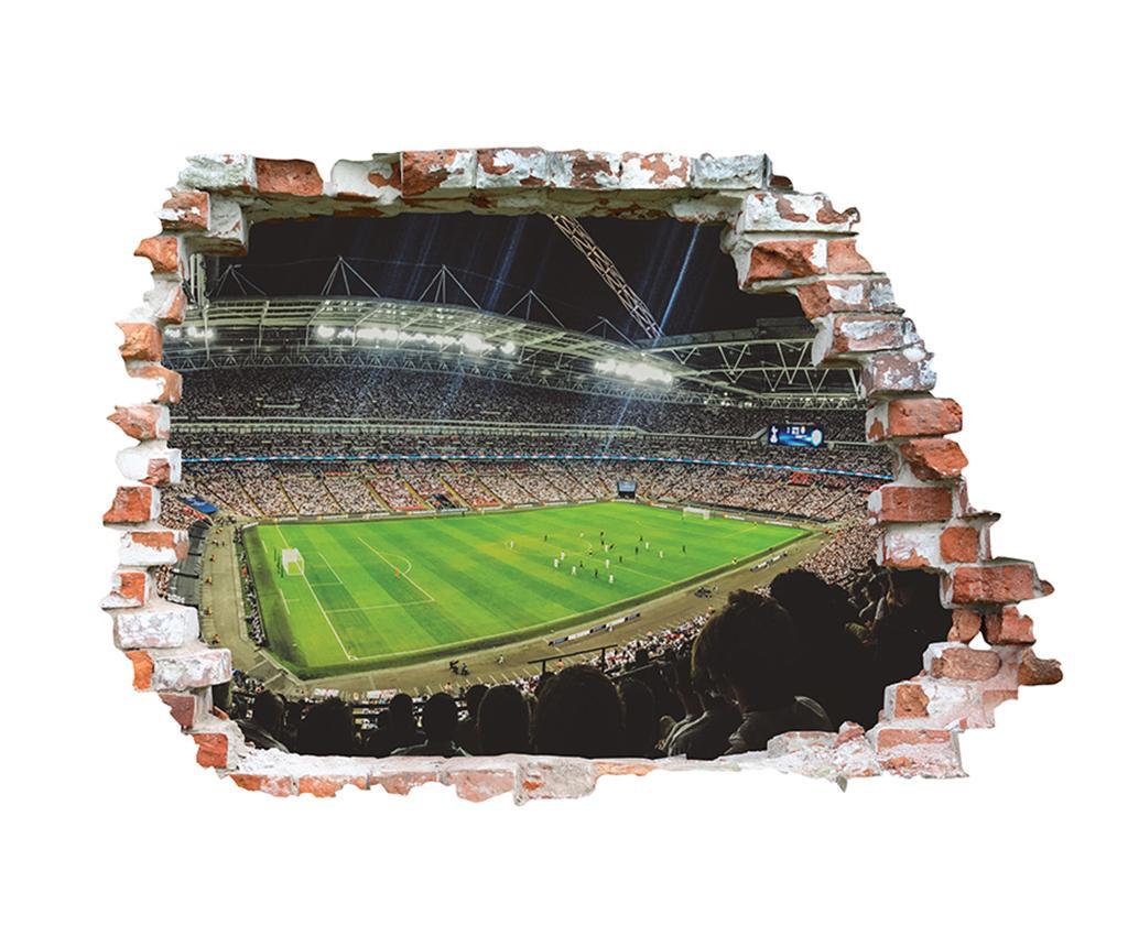 Sticker 3D Stade