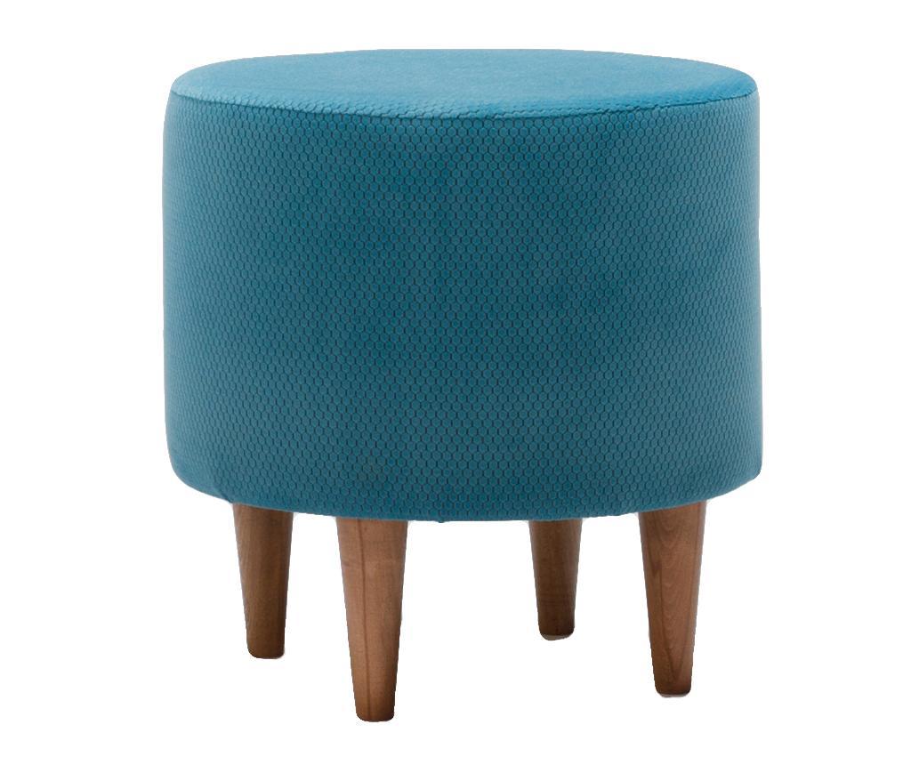 Taburet Findik Blue - Balcab Home, Albastru imagine