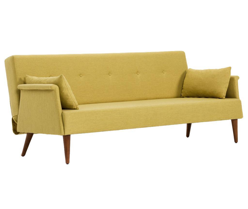 Canapea 3 Locuri Extensibila Navan Yellow