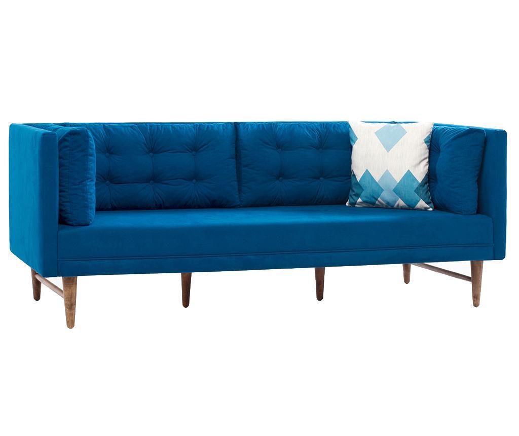 Canapea 3 Locuri Point Blue