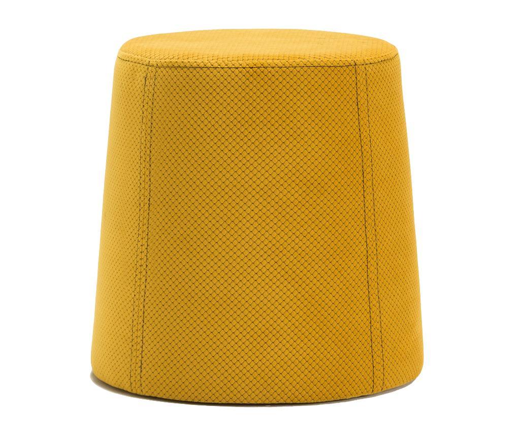 Taburet Petek Yellow - Balcab Home, Galben & Auriu