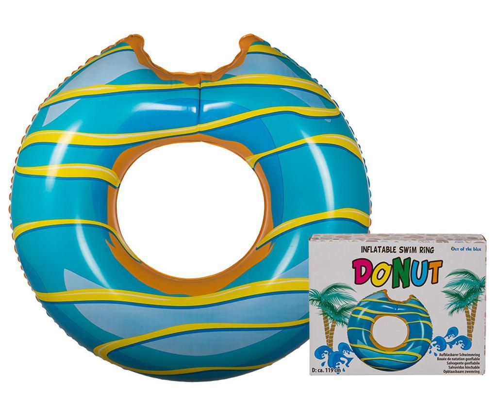 Colac pentru inot Donut Blue