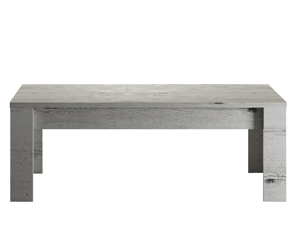 Masuta de cafea Rovere Neve - TFT Home Furniture, Gri & Argintiu