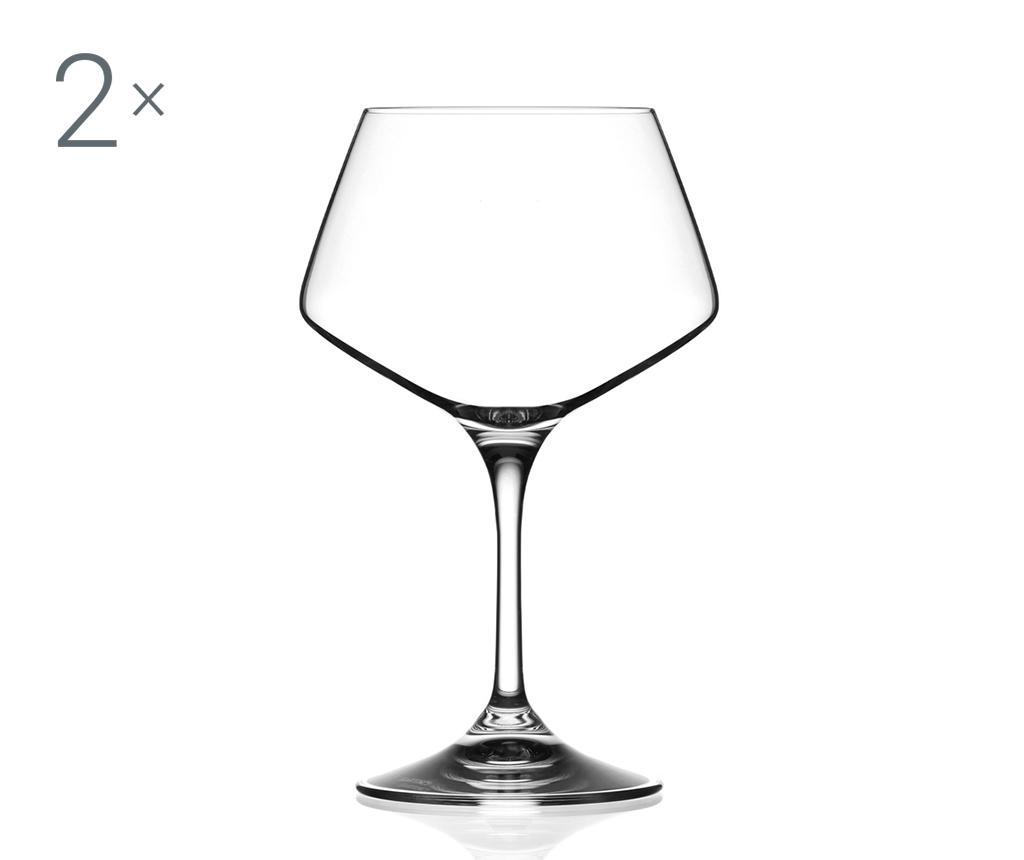 Sada 2 sklenic na víno Aria 500 ml