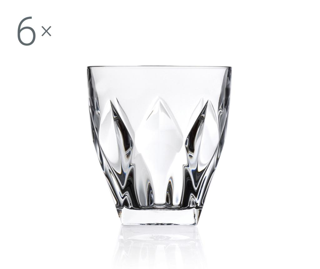 Set 6 pahare pentru whisky Ninphea 330 ml imagine