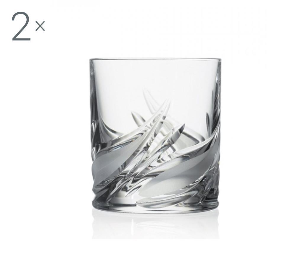 Set 2 pahare pentru whisky Cetona 210 ml