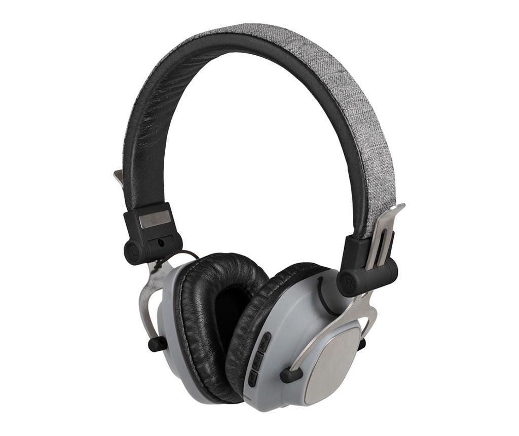 Bezdrátové sluchátka Bluetooth s mikrofonem Compatible Grey