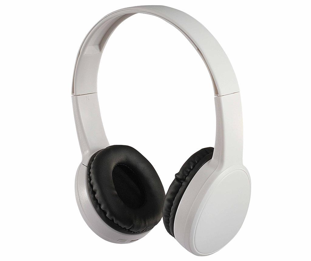 Bezdrátové sluchátka Bluetooth s mikrofonem Premium White