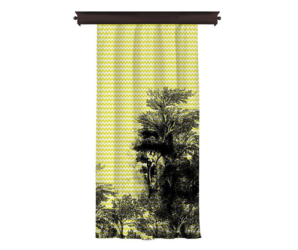 Draperie Tamsin Tree 140x260 cm