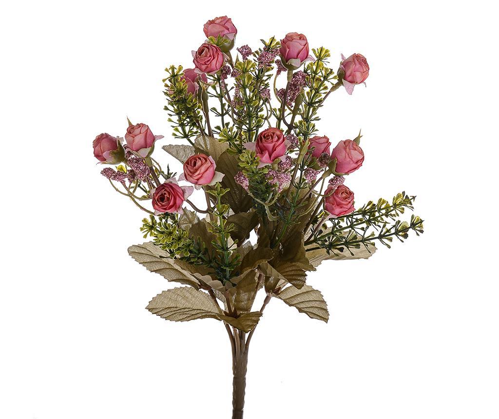 Buchet flori artificiale Little Roses Mauve