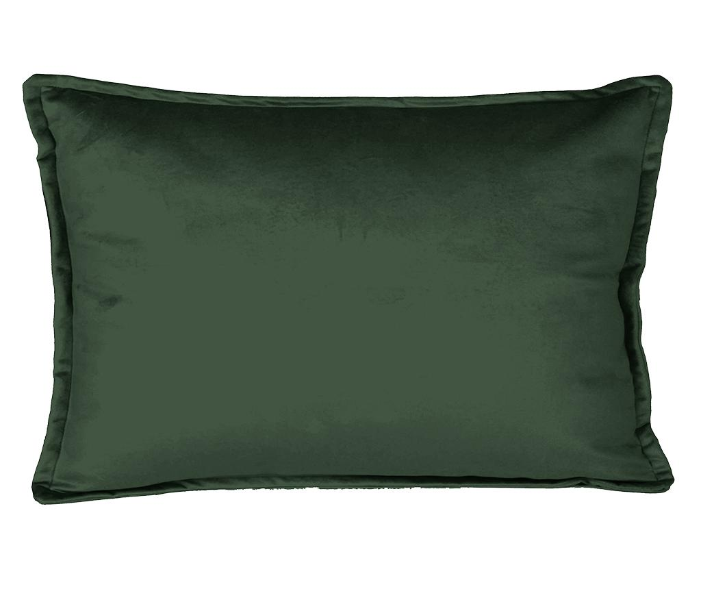 Perna decorativa Nasal Dark Green 35x50 cm - Really Nice Things, Verde poza