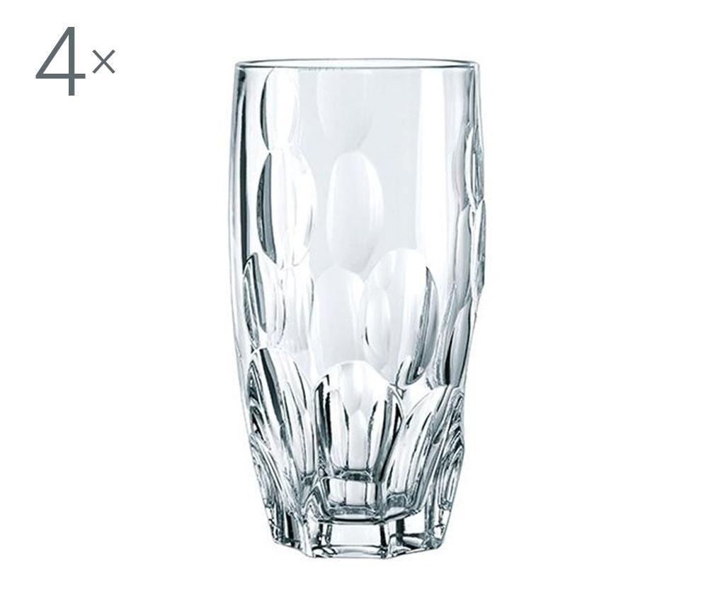 Set 4 pahare Nachtmann Sphere Crystalite 385 ml imagine