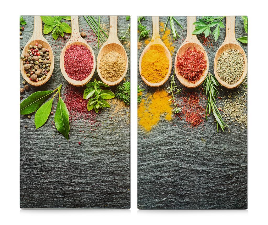Set 2 planse protectoare pentru plita Spices imagine