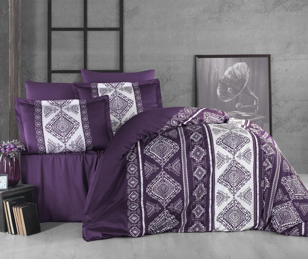 Lenjerie de pat King Satin Supreme Calipso Purple