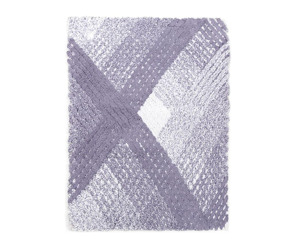 Covoras de baie Wall Purple 70x110 cm - Irya, Mov