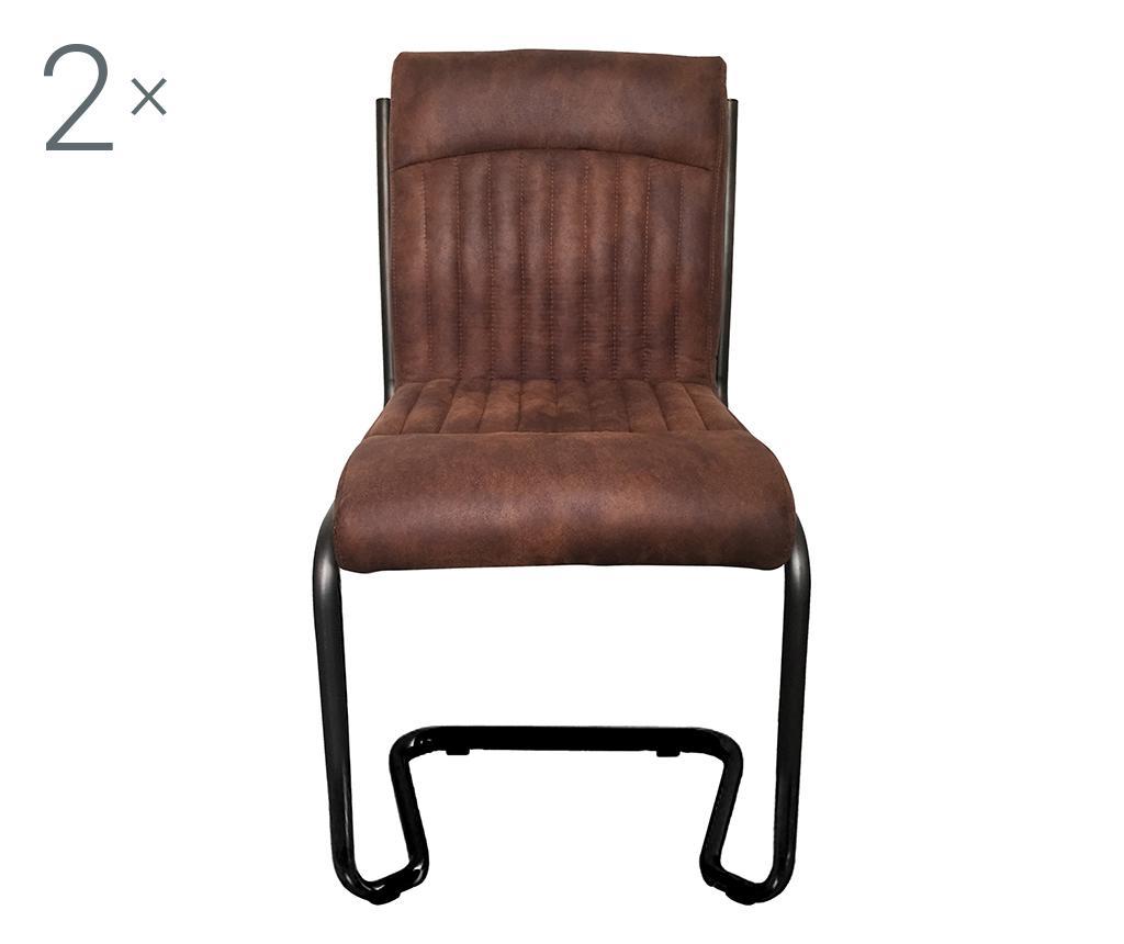 Set 2 scaune Austin - SIT Möbel, Maro imagine