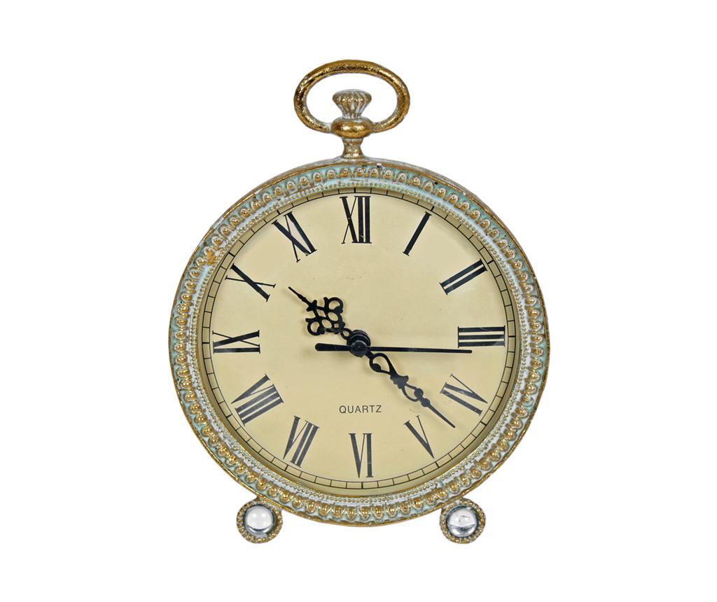 Ceas de masa Carry - Originals, Galben & Auriu imagine