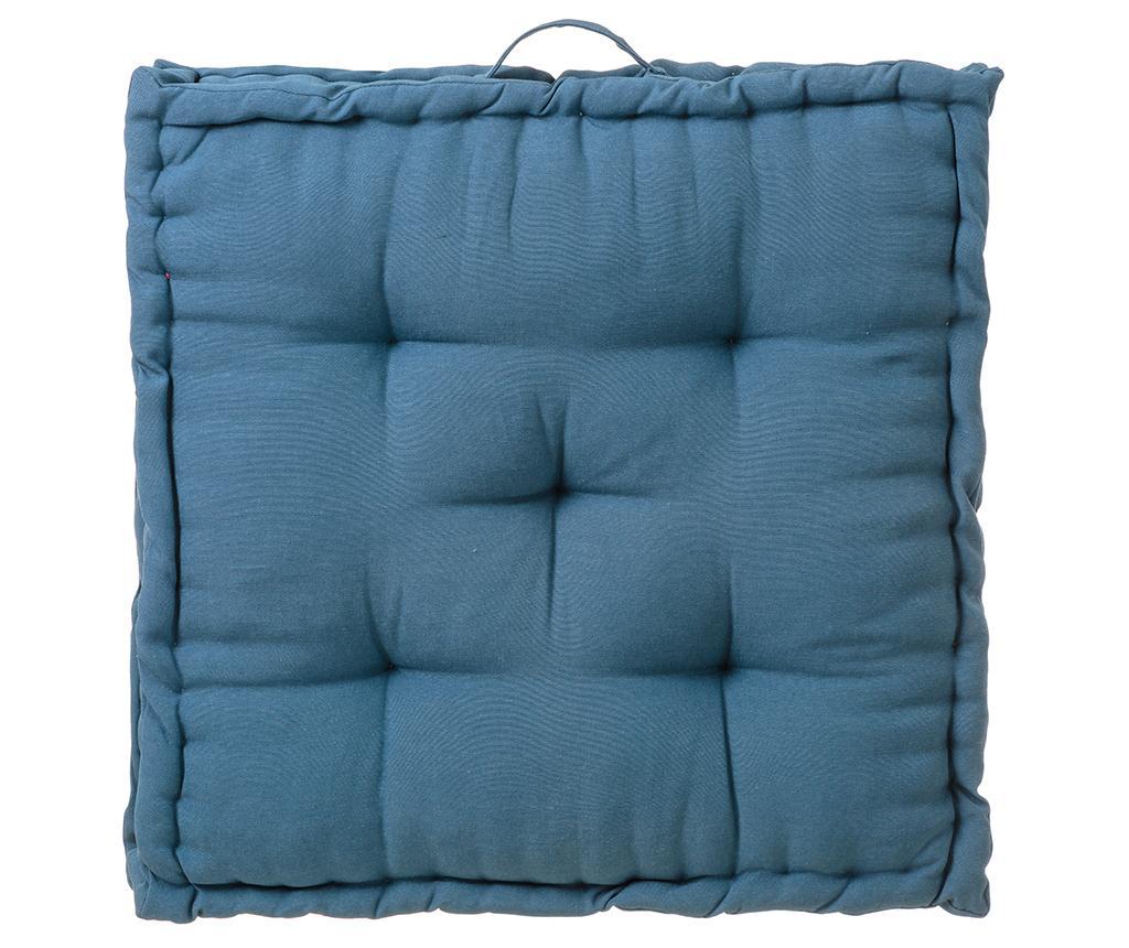 Perna de podea Loving Colours Blue 60x60 cm - Casa Selección, Albastru poza