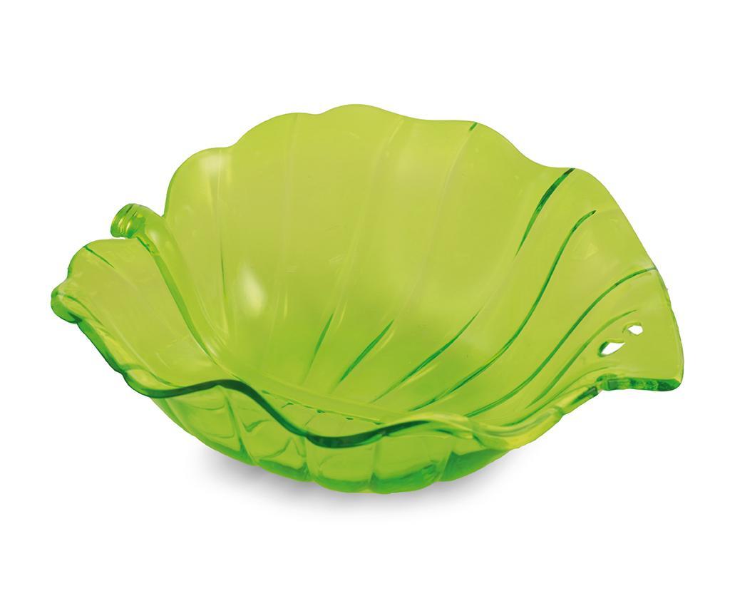 Bol pentru salata Leaf - Villa D'Este, Verde imagine