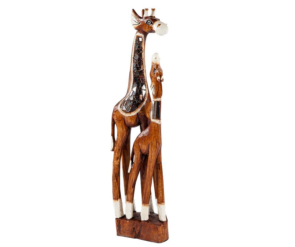 Decoratiune Giraffe Family S