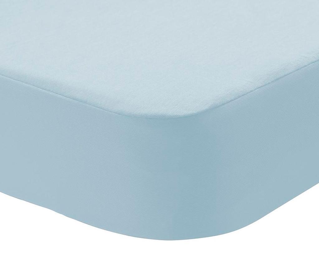 Husa impermeabila pentru saltea Randall 2 in 1 Light Blue 90x190 cm - Pikolin, Albastru imagine vivre.ro