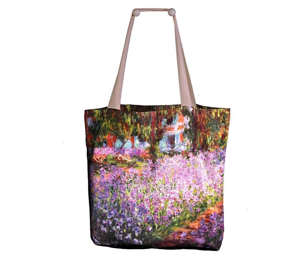 Geanta Monet Artist Garden imagine
