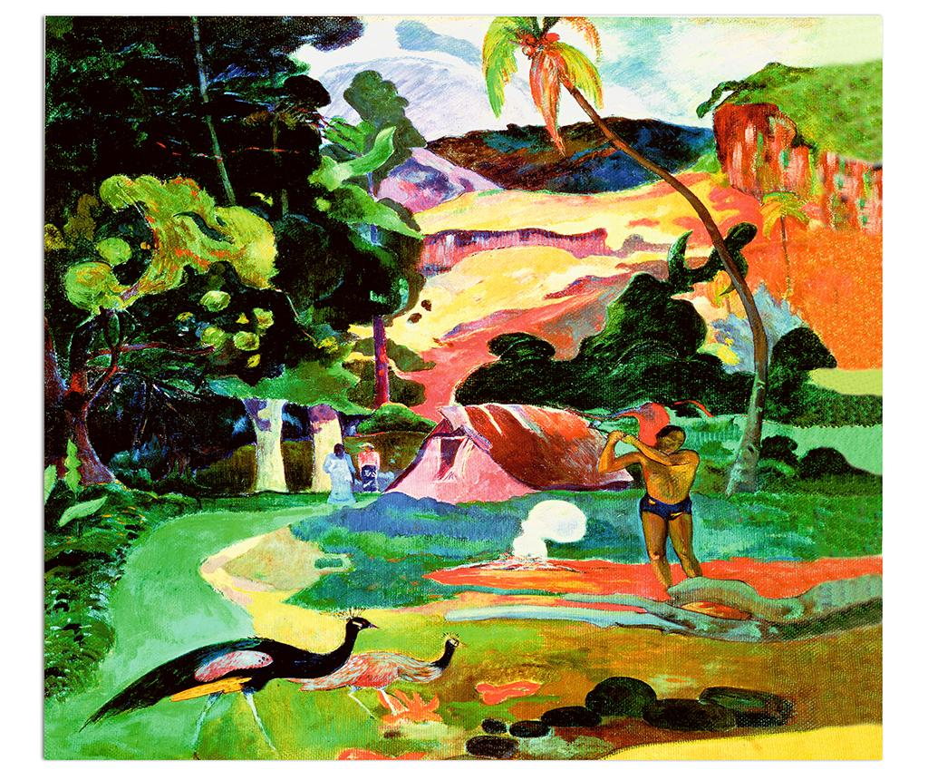 Tablou Gauguin Matamoe 120x140 cm imagine