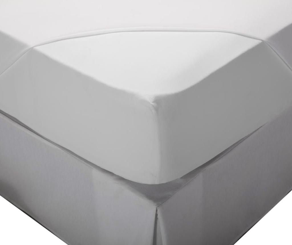 Cearsaf de pat cu elastic Laraline White 80x200 cm - Pikolin, Alb